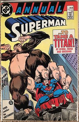 Superman Annual #1 (2nd Series) 1987. Dc Comics. High Grade Condition.