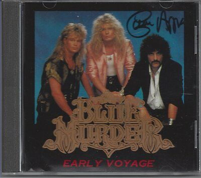 """Blue Murder """"early Voyage"""" 1cd  The Ritz NYC 1989  +Demos  OOP Rare  Autographed"""