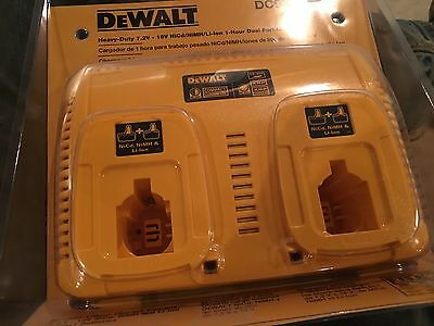 Dewalt DC9320 7.2-Volt - 18-Volt Ni-Cd/NiMH/Lithium-Ion 1 Hour Dual Port Charger