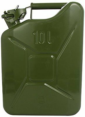 Carpoint 0110011 Tanica da 10 L in Metallo, TUV/GS, Verde