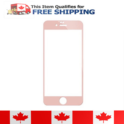 Rose Gold Tempered Glass Film Screen Protector for iPhone 6 Plus 6s Plus