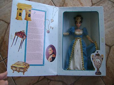 1996 French Lady Barbie Doll-Collector Edition-The Great Eras Collection-Mattel
