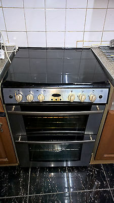 Belling Cooker G754 Gas Double Oven & Grill with Timer
