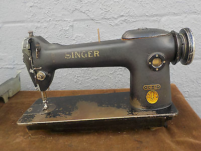 Industrial Sewing Machine Singer 241-12 single needle -Light Leather