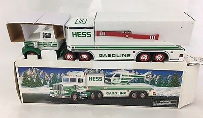 1995 Hess Toy Truck And Helicopter New in Box - No batteries