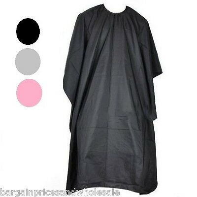 Adults Hair Deluxe Hairdressing Salon Cape Barbers Gown Cover Water Proof 140cm