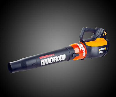 WG591 WORX 56V Lithium-Ion AIR TURBINE Cordless Leaf Blower w Battery & charger