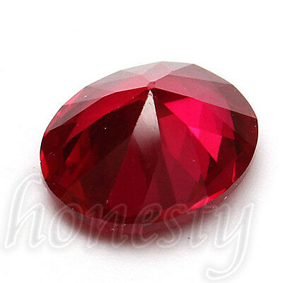 9X11MM Beautiful Unheated Pigeon Blood Red Sapphire Lustrous Loose Gemstone Gem