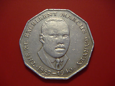 Jamaica 50 Cents, 1975, Marcus Garvey