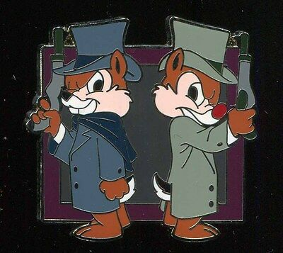 Haunted Mansion Mystery Chip and Dale Duellers Disney Pin 65944