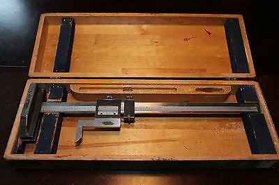 14'' Browne and Sharpe #586 Vernier height gauge