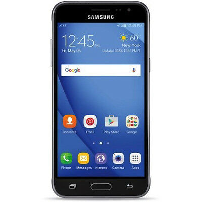 New Samsung Galaxy Express Prime 4G LTE 16GB Black AT&T GSM Unlocked Smartphone