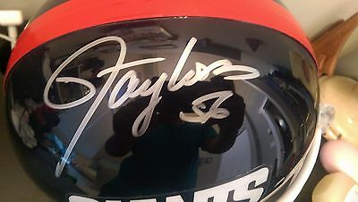 LAWRENCE TAYLOR Autographed Full Size Helmet w/COA