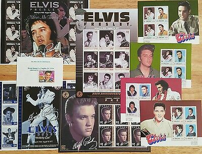 Elvis Stamp Collection-25th Anniversary Edition, Love Me Tender & Hillbilly Cat