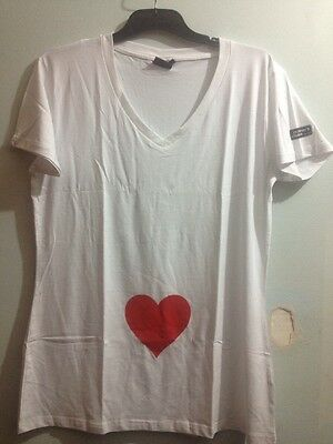 Mother's Choice Love Heart Maternity T Shirt Bnwot Sz l Free Post (d41)