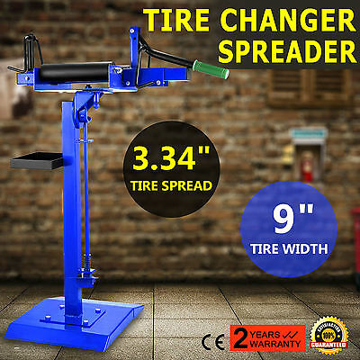 Manual Car Truck Tire Changer Spreader Spread Tire Mount Demount Repair Tool