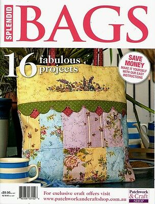 Splendid Bags Magazine 2015    Pattern Sheet Attached