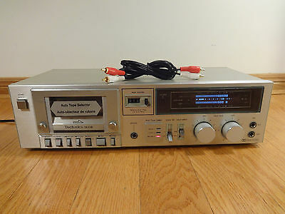 Technics RS-M218 Stereo Cassette Tape Deck 1981 Japan TESTED 100% Works Great!