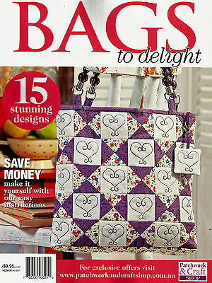 Bags To Delight  Magazine 2016  Pattern Sheet Attached