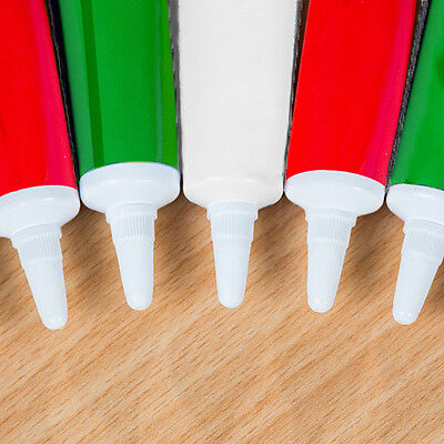 Christmas Writing Icing Tubes Cake Décor  (Pack of 18) (34p each) 19g