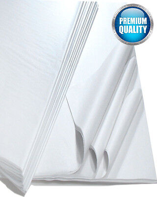White Acid Free Tissue Paper Sheets 18gsm lot Wrapping 500mm x 750mm 50cm x 75cm