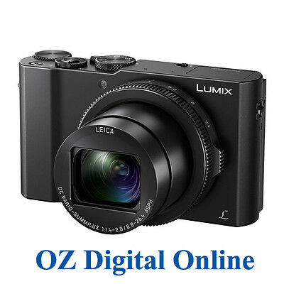 NEW Panasonic Lumix DMC-LX10 4K Ultra HD 20.1MP Digital Camera 1 Yr Aus Wty