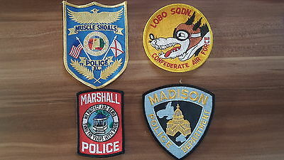 4 USA Patches