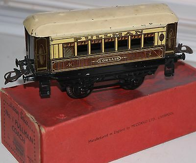 HORNBY SERIES O GAUGE No 1 PULLMAN  COACH BOXED