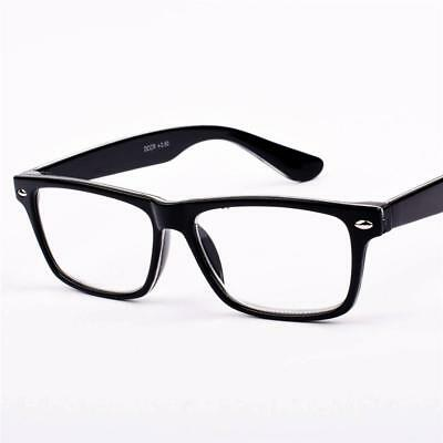 New Mens Womens Vintage Retro Black/White Reading Glasses +1+1.25+2.75+3.5 S81