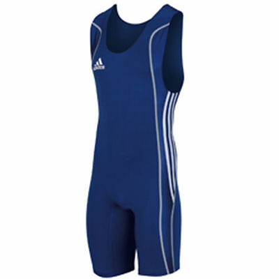 Special Offer - Adidas W8 Mens Wrestling Suit Blue