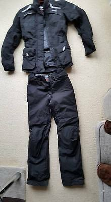 Ladies Motorcycle Jacket and trousers (small)
