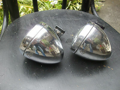 Rare Vintage 1940s-50s Phoebus, Swiss Made Bicycle Headlights