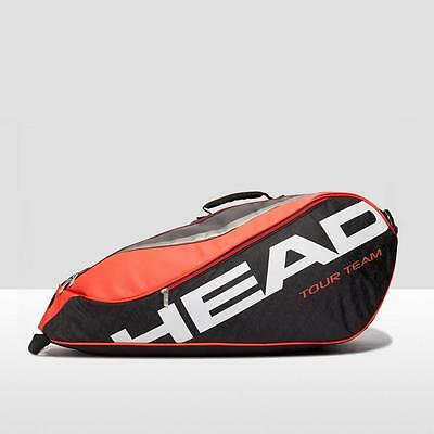 Head Tour Team 6 Racket Tennis Bag One Size Black