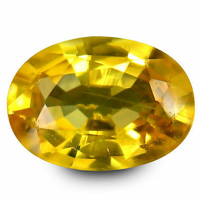0.925Cts Mesmerizing Top Luster Golden Yellow Natural Sapphire Oval Loose Gems