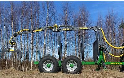 14' Log loader and Trailer-FREE SHIPPING plus 1000$ OFF!