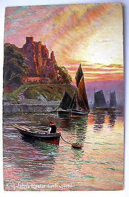King Johns Castle Carlingford Co. Louth Ireland Posted 1906 Hildesheimer D702