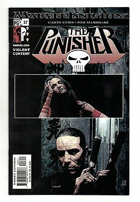 Punisher Vol 4 No 27 Jul 2003 (NM) Marvel Knights, Modern Age (1980 - Now)