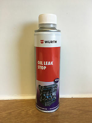 WURTH ENGINE OIL LEAK STOP SEAL SEALER 200mL FOR PETROL AND DIESEL ENGINES