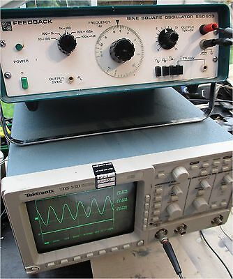 Feedback SSO603  Function Sine Square Signal Generator