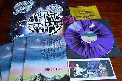 "COSMIC FALL ""First Fall"" LP DIE HARD ed. *lim 100 copies* EARTHLESS COLOUR HAZE"