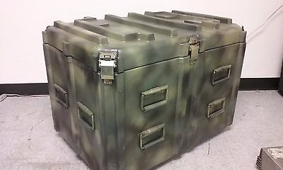 CAMOUFLAGE PAINTED ECS LOADMASTER Single Lid Shipping Case Series LM3325-24