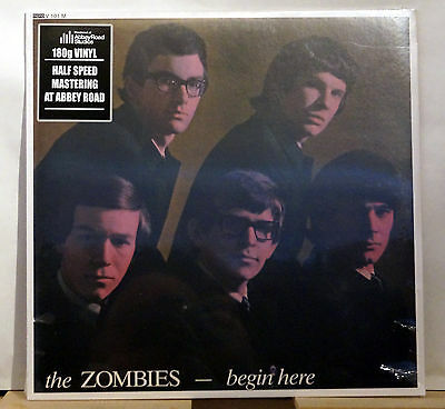 The Zombies Begin Here Brand New Factory Sealed LP in MONO!!!