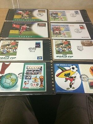 Football First Day Covers- World Cup , Europea