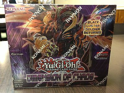 Yu-Gi-Oh! TCG Dimension of Chaos Booster Box 1st Edition (EN) - NEW AND SEALED!