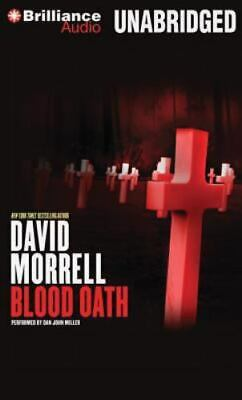 BLOOD OATH unabridged audio book on CD by DAVID MORRELL
