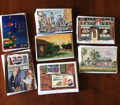 12 Dozen Old Time Pepsi Blank Greeting Cards New
