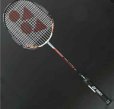 New Collection Yonex Muscle Power Performance 3 Badminton Racket (Silver-Red)