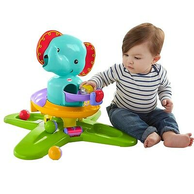 Fisher-Price Silly Safari Elephant, Infant Baby Interactive Activity Toy