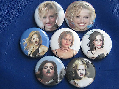 """Brittany Murphy film and stage actress, singer, and voice artist.1"""" button badge"""