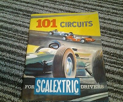 Vintage scalextric 101 circuits book Free postage